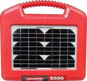 Speedrite S500 napelemes villanypásztor tápegység